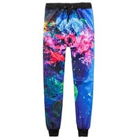 Colorful Coral Joggers