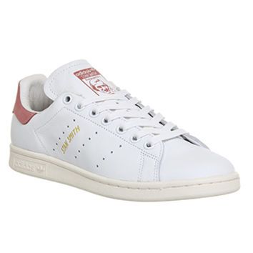 Adidas Stan Smith White Ray Pink - Unisex Sports