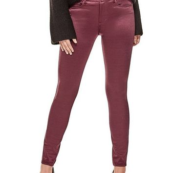 Sandy Mid-Rise Pants at Guess