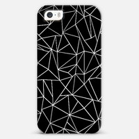 Abstraction Outline Black and White #2 iPhone 5s case by Project M | Casetify