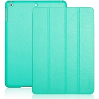 iPad Air case, INVELLOP Turquoise/Teal Leatherette Case Cover for Apple iPad Air cases (2013 release)