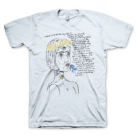 Trouble Sky Blue T Shirt - Cage The Elephant