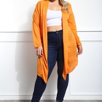 Yearn For Me Plus Size Cardigan Tops+ GS-LOVE