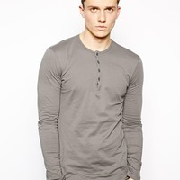 United Colors Of Benetton Long Sleeve Granded Top