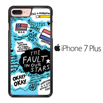 TFIOS Quotes Collage iPhone 7 Plus Case
