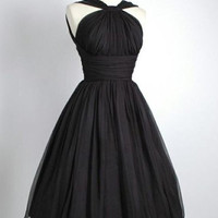 Custom Made A Line Black Short Prom Dresses, Black Short Formal Dresses, Graduation Dresses, Homecoming Dresses