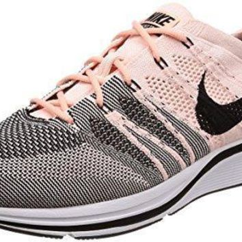 Nike Men Flyknit Trainer (sunset Tint/black White)