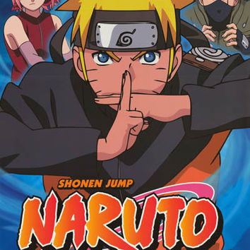 Naruto Shippuden Anime Cast Poster 24x36