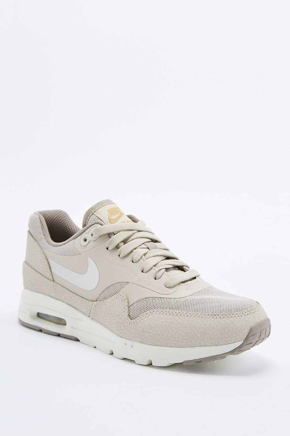 nike air max 1 essential beige trainers from urban. Black Bedroom Furniture Sets. Home Design Ideas
