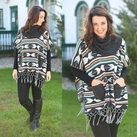 Tribal Directions Poncho - Double Zero