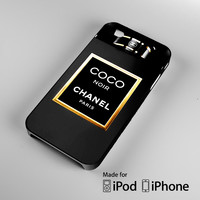 channel Coco Noir A0152 iPhone 4 4S 5 5S 5C 6, iPod Touch 4 5 Cases