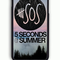 iPhone 6 Case - Rubber (TPU) Cover with 5SOS Logo Rubber Case Design