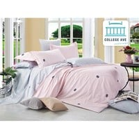Roseate Dream Comforter Set - College Ave Designer Series College Decorations Must Have Dorm Products Bedding For College Girls