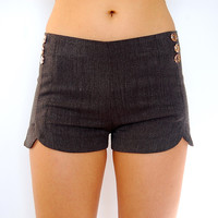 Dip it Low Shorts in Charcoal