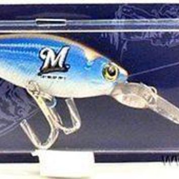 Milwaukee Brewers Minnow Crankbait Fishing Lure Hook MLB Baseball