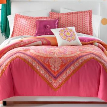 Seventeen® Gypsy Chevron Comforter Set and Accessories