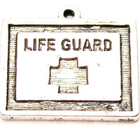 Lifeguard Genuine American Pewter Charm