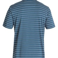 Men's Harborside Stripe Polo Shirt 888701417859 - Quiksilver