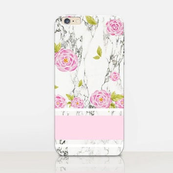 Roses Marble Phone Case  - iPhone 6 Case - iPhone 5 Case - iPhone 4 Case - Samsung S4 Case - iPhone 5C - Tough Case - Matte Case