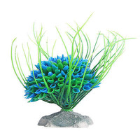 Green Plastic Plant Grass Fish Tank Aquarium Ornament Decoration 3C