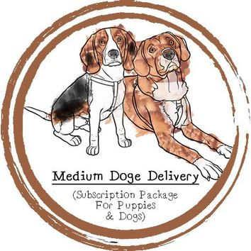 Medium Doge Delivery (For Puppies & Dogs) - Subscription Box - Food Subscription - Raw Food - Raw Feeding - Dogs - Puppy