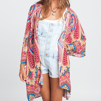 Billabong Sea You Dream Kimono | Dillards