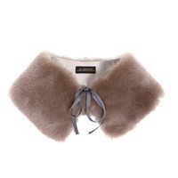 Shearling Collar:: Taupe