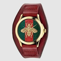8DESS GUCCI Woman Men Fashion Quartz Movement Wristwatch Watch