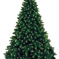 9' Artificial Natural Pre-Lit Tree