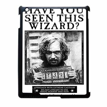 Sirius Black Wanted Poster iPad 3 Case