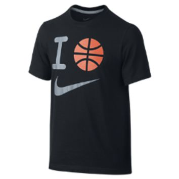 Nike I Ball Swoosh Boys' T-Shirt