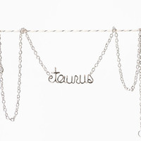 Taurus Necklace - Zodiac Bracelet
