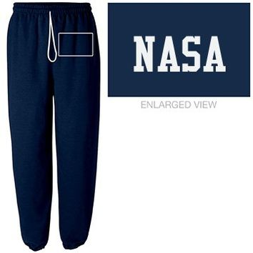 Unisex NASA Navy Tracksuit Bottoms