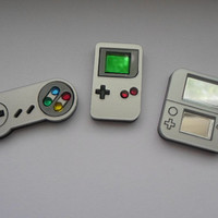 Mini Gaming System Pins