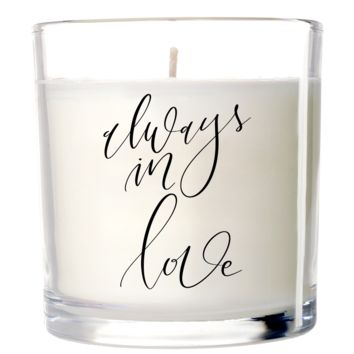 Always in Love Candle