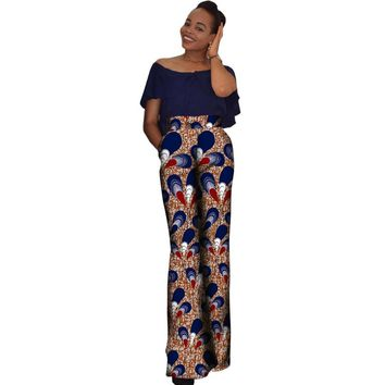 Classic Ankara High Wasit Pants
