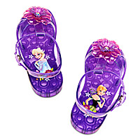 Anna and Elsa Sandals for Girls