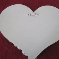 Valentine Heart with Seashell Angel to Show Your Love
