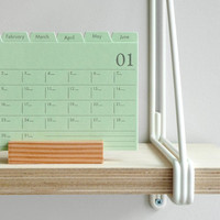 Index Card Desk Planner