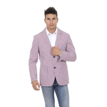 Fred Perry Mens Jacket Checked
