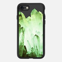 PURE CRYSTAL EMERALD by Monika Strigel iPhone 7 Hülle by Monika Strigel | Casetify