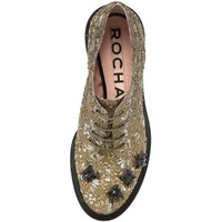 ROCHAS 30mm Embroidered Cotton Derby Shoes