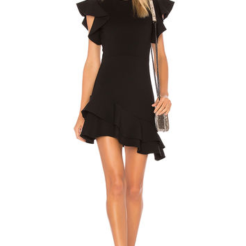 Amanda Uprichard Eclipse Dress in Black Powerstretch | REVOLVE