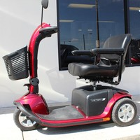 Victory 10 3-Wheel Scooter SC610 - Pride Mobility 3-Wheel Midsize Scooters | TopMobility.com