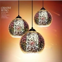 Creativity 3D Modern Ceiling Lamp Light chandelier Glass Pendant Bar