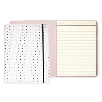 Notepad Folio, Bikini Dot (black) | kate spade new york