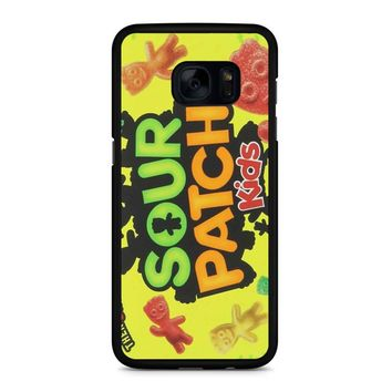 Sour Patch Kids Candy Package Front Samsung Galaxy S7 Edge Case