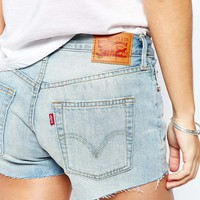 Levis 501 Remote Coast Denim Shorts