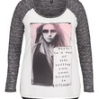 Plus Size - Style Is A Way Of Life Hacci Tee - Gray