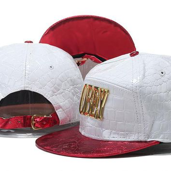Obey Snapback Caps Cap Snapback Hat - Ready Stock